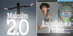Malcolm 2.0 : AnimSchool met à jour son rig gratuit