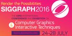 SIGGRAPH 2016 : ouverture des inscriptions pour le pavillon France