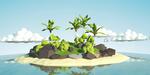 Créer une île paradisiaque low-poly sous Blender