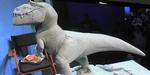 Greg Dykstra (Pixar) : sculpture d'un T-Rex du Voyage d'Arlo