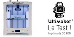 Imprimante 3D : l'Ultimaker 2 en test