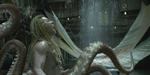Macrograph : sirène et homme-pieuvre pour un film chinois