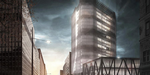 Modern Office Building, making-of Photoshop par David Drazil