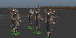 Golaem 5 : créer une bataille avec des archers