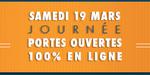 Ecole en ligne Institut ArtLine : journée portes ouvertes le 19 mars