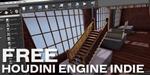 GDC 2016 : Houdini Engine Indie devient gratuit