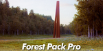 Test : plugin Forest Pack Pro pour 3ds Max