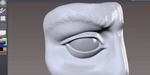 Sculpter un oeil en 3D, par Mike Defeo