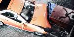 Crash Test avec effet slit-scan, par Lucio Arese