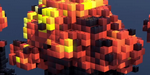 Créer un effet de blocs sous Houdini