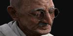 Portrait de Gandhi, par  Marlon R. Nunez