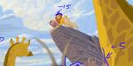 Roi Lion : plongée dans le processus de conversion relief