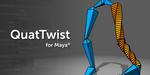 QuatTwist pour Maya, plugin gratuit par Brave Rabbit