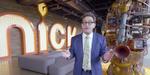 Visitez en vidéo les studios Nickelodeon, avec la voix de Bob L'éponge