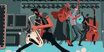 animation pour un festival rockabilly, par Spacesheep