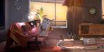 Robot Room, making-of et scène complète sous Maya, RenderMan, Nuke