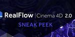 RealFlow pour Cinema 4D : la V2 en approche