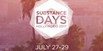 Substance Days en approche, une partie de l'évènement diffusée en ligne