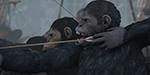 La prévis du film War for the Planet of Apes chez Halon Entertainment
