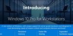 Windows 10 Pro : Microsoft décline son OS pour les stations de travail