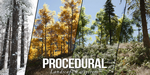 Paysage procédural sous Unreal Engine, par Gokhan Karadayı