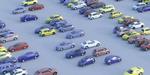 Car Park, un script 3ds Max et Corona pour créer des parkings