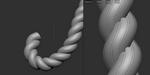 ZBrush : créez une brosse pour vos cordes