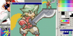 GraphicsGale, outil gratuit pour créer sprites et pixel art