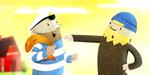 ODD : showreel personnages animés