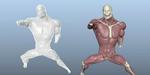 Ziva : quelques tutoriels autour de l'outil de simulation de muscles et chair