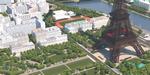 Autodesk modélise les alentours de la Tour Eiffel en 3D