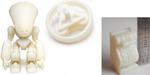 Impression 3D : résine détaillée chez Sculpteo, Shapeways à NY