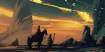 Speed painting : Amir Zand détaille son processus sur un paysage rocheux