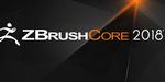 ZBrushCore 2018 : la version allégée de ZBrush se met à jour