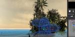 Créer une île déserte sous Vue