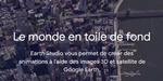 Google Earth Studio : un outil en ligne pour animer les données Google Earth