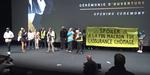Annecy 2019 : la soirée d'ouverture brièvement interrompue par des gilets jaunes et intermittents