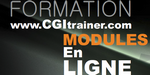 CGItrainer : liste des modules 2012