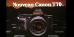 Nostalgie : Sogitec, publicité Canon T70 (1984)