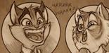 Lackadaisy : quelques conseils pour dessiner les expressions faciales