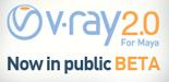 V-Ray 2.0 pour Maya : Chaos Group lance la beta