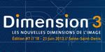 Rappel : Dimension 3 2013, du 18 au 21 juin