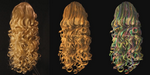 SIGGRAPH 2013 : capture de cheveux avec structure