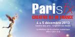 Rappel - ParisFX 2013, les 4 et 5 décembre