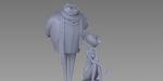 Michael Defeo : impression 3D de Gru et Lucy (Moi, Moche et Méchant 2)