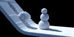 De la neige dans Blender, avec Molecular