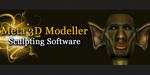 Meta 3D Modeller, logiciel de sculpture 3D gratuit, en beta