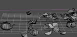 Tutoriel 3ds Max : pluie de rochers avec Pflow / Rigid Body / Fracture