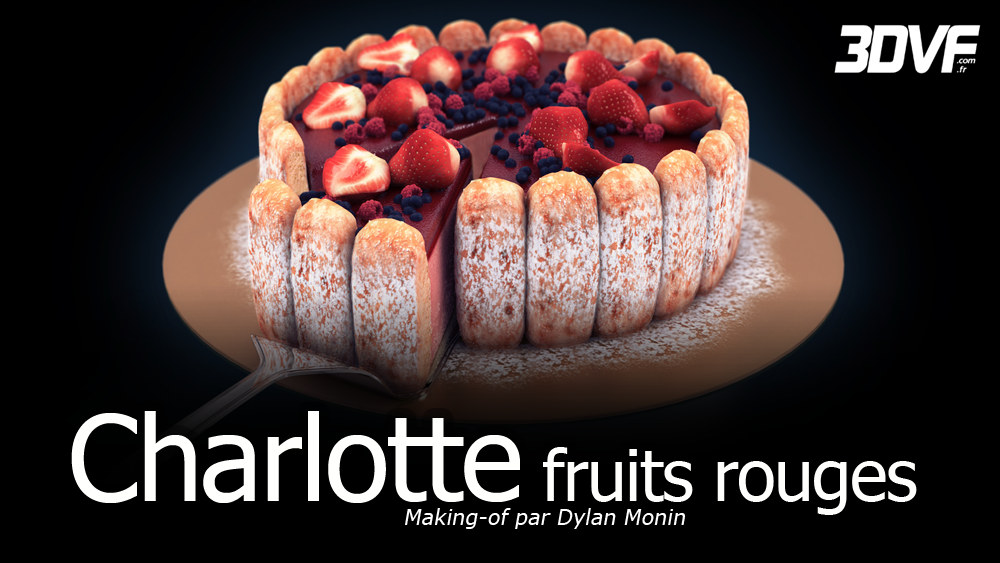 Charlotte Fruits Rouges