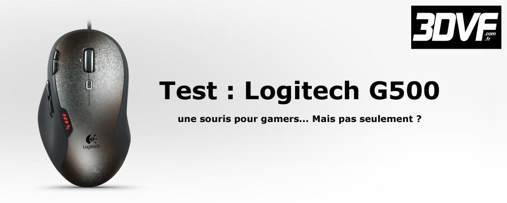 Logitech G500 - titre